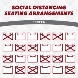 Marcus Theatres Social Distancing